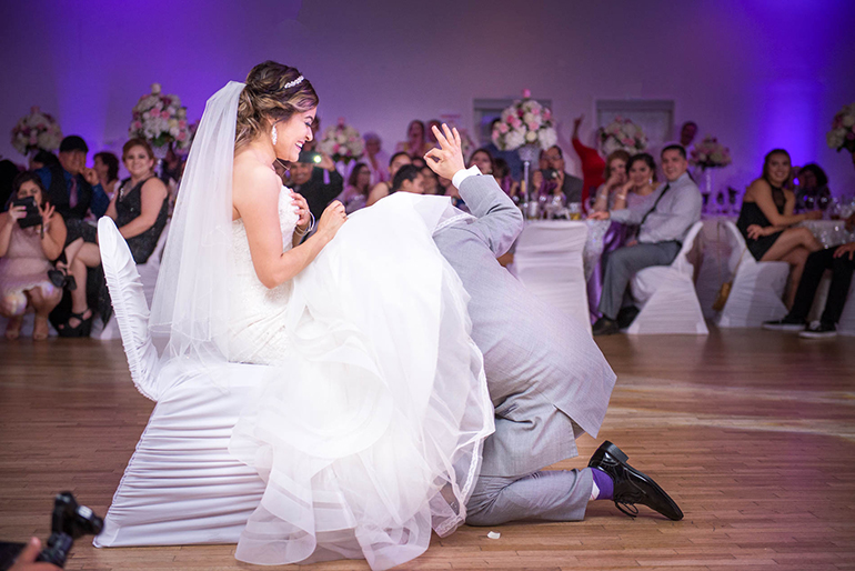 19 of the BEST wedding garter removal songs for your reception!